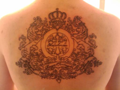 Royal-Courage-Back-Tattoo